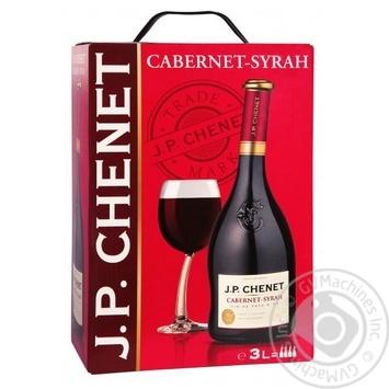 Вино J.P.CHENET Cabernet-Syrah красное сухое 3л