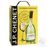 Вино J.P.CHENET Colombard-Chardonnay белое сухое 3л