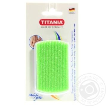 Тертка педікюрна Titania для ніг 3000/7 - купити, ціни на Novus - фото 1