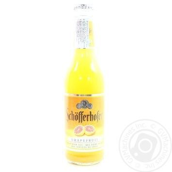 Пиво Schöfferhofer Grapefruit пшеничное 2,5% 330мл - купить, цены на Novus - фото 3