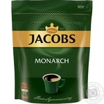 Кофе Jacobs Monarch растворимый 90г