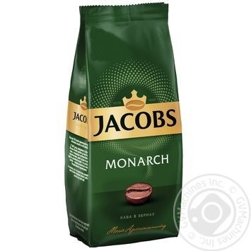 Jacobs Monarch Whole Bean Coffee - buy, prices for Novus - image 1