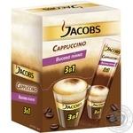 Напиток кофейный Jacobs 3в1 Cappuccino растворимый в стиках 24*12,5г