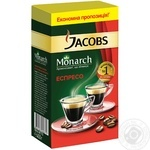 Кофе Jacobs Monarch Espresso молотый 450г