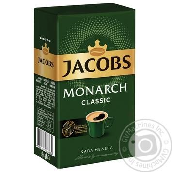 Кофе Jacobs Monarch Classic молотый 230г - купить, цены на Novus - фото 1