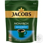 Jacobs Monarch Decaf Instant Coffee 60g - buy, prices for MegaMarket - image 1