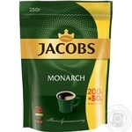 Кофе Jacobs Monarch растворимый сублимированный 250г