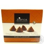 Candy Bianca with rum 175g in a box