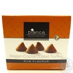 Конфеты Bianca трюфельные со вкусом рома 175г