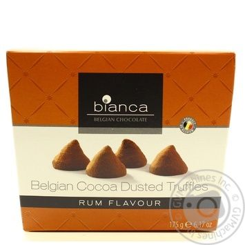 Candy Bianca with rum 175g