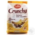 Кранчи Sante с бананом и шоколадом 350г