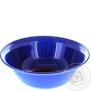 Салатник Полипласт Шафран большой (цвет в ассортименте) - купить, цены на Ашан - фото 1