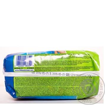 Трусики-подгузники Хаггис Литтл Свимерс 3-4 12шт - купить, цены на Novus - фото 4