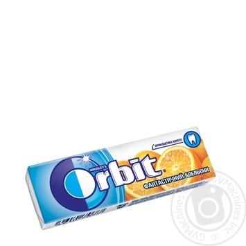 Резинка жевательная Orbit Фантастический апельсин 14г