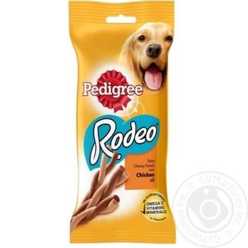 Корм для собак жувальне лакомство Pedigree Rodeo 70г