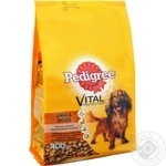 Dry dog food Pedigree Mini with poultry and vegetables 400g