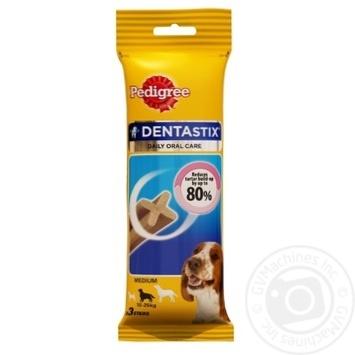 Игрушка для животных Pedigree Кость для чистки зубов 77г