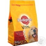Dry dog food Pedigree with beef and poultry 2400g