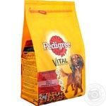 Dry dog food Pedigree Mini with beef and vegetables 2000g