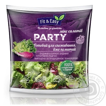 Салат Fit&Easy Party мікс 180г