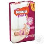 Подгузники-трусики Huggies для девочек 3 6-11кг 44шт