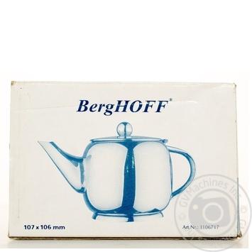 Чайник заварювальний BergHOFF 10,7*10,6см 0,6л 1106717А - купити, ціни на Novus - фото 5
