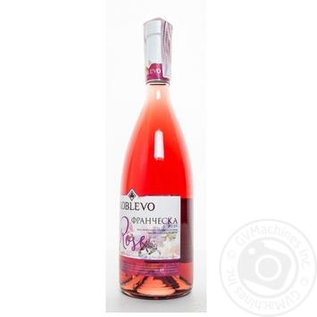 Вино Коблево Франческа Розе розовое полусладкое 13% 0,7л - купить, цены на Фуршет - фото 2