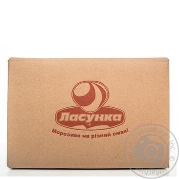Морозиво Пломбір Гост в вафельному стакані Ласунка 70г - купить, цены на Novus - фото 2