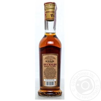Tisa Beskidy 3 stars cognac 40% 0,25l - buy, prices for Novus - image 2