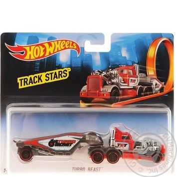 Игрушка Hot Wheels грузовик-трейлер - купить, цены на Novus - фото 6