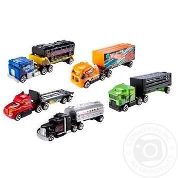 Игрушка Hot Wheels грузовик-трейлер - купить, цены на Novus - фото 4