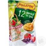 Приправа Роллтон універсальна 12 овочів та трав з базиліком і томатами в гранулах 200г