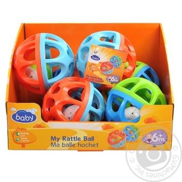 Игрушка Baby шар в ассортименте