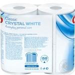 Ruta Crystal Toilet Paper White 4pcs - buy, prices for MegaMarket - image 3