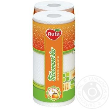 Ruta Towel Paper Towels 2pcs - buy, prices for MegaMarket - image 3