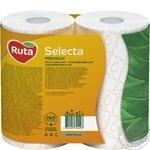 Папір туалетний Ruta Selecta білий з ароматом ромашки 3-шаровий 4шт - купити, ціни на Novus - фото 3