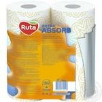 Полотенца бумажные Рута Селекта 3сл 2шт - купить, цены на Novus - фото 3