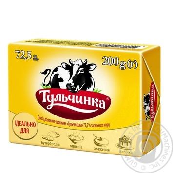 Скидка на Смесь растительно-сливочная «Тульчинская» 72,5% 200г