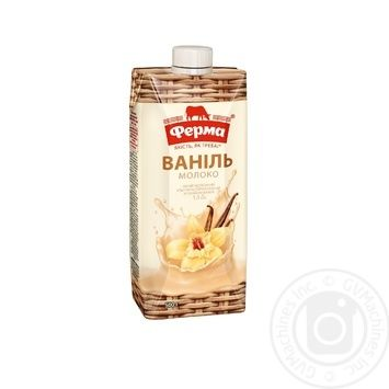 Ferma milk with vanilla uht cocktail 1.5% 500g - buy, prices for MegaMarket - image 1