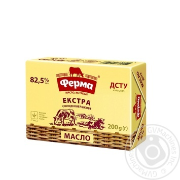 Ferma Extra sweet cream butter 82.5% 200g - buy, prices for Novus - image 1