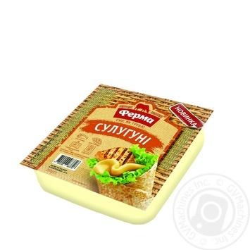 Ferma soft cheese suluguni 45% 250g - buy, prices for Furshet - image 1