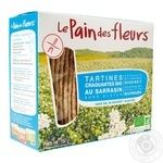 Le Pain des fleurs free gluten-salt-sugar wheat crispbread 150g - buy, prices for Novus - image 1
