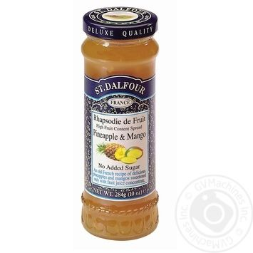 St.Dalfour Pineapple-Mango Jam 284g - buy, prices for Novus - image 3