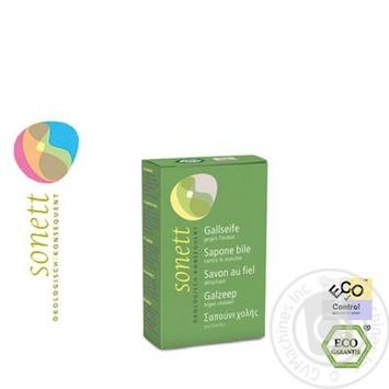 Мыло для стирки Sonett органическое (желчное мыло) 100г - купить, цены на Novus - фото 2