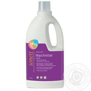 Жидкое стиральное средство Sonett с эфирным маслом лаванды органическое концентрат 2л