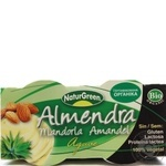 Десерт NaturGreen органический растительный из миндаля с сиропом агавы 2*125г