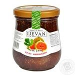 Jam Ijevan of figs 600g glass jar Georgia
