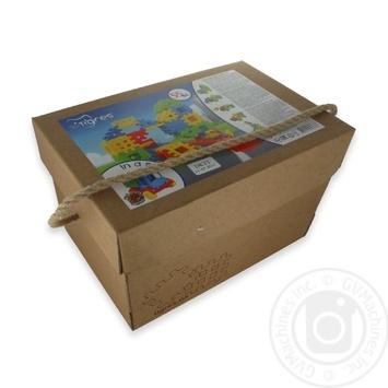 Іграшка-конструктор Поєднайко 55 ел. арт. 39378 - купить, цены на МегаМаркет - фото 1