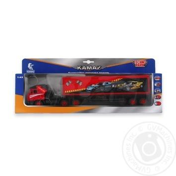 Techno Park Kamaz Truck Toy Car Model