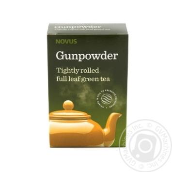 Чай зеленый Novus ганпаудер 100г